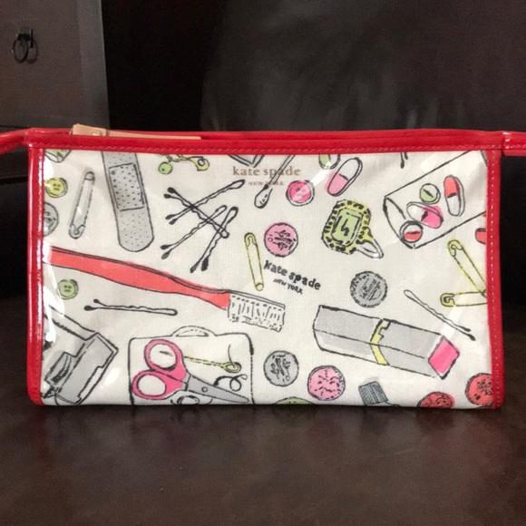 kate spade Handbags - Kate Spade Fun Print Cosmetic Bag